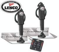 Lenco Trim Tabs Electro Polished Standard Kits
