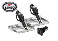Lenco Edge Trim Tab Electro Polished Kit
