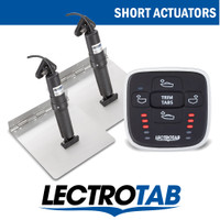 Lectrotab Manual Switch Kit Stainless Tabs Short Actuator