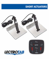 Lectrotab Auto Switch Kit Stainless Tabs Short Actuator
