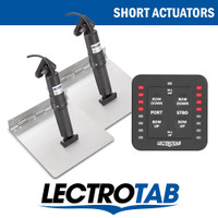 Lectrotab One Touch Switch Kit Stainless Tabs Short Actuator