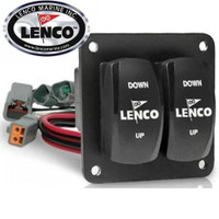 Lenco Double Rocker Trim Tab Switch