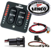 Lenco LED Indicator Trim Tab Switch