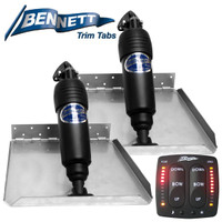 BOLT Edge Trim Tab Kit with LED Auto Tab Switch