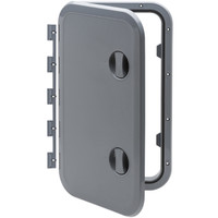 Removable Hinge Access Hatch Can SB Grey