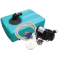 39 Litre Rigid Flexible Tank Freshwater Kit - 12 Volt