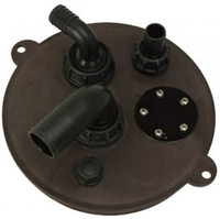 Waste Tank Hatch Lid - Brown