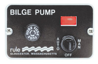 Deluxe 3 Way Switch Bilge Pump Control Panel