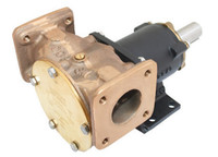 """Jabsco Heavy Duty Composite Pump Flanged Ports 1 1/2"""""""