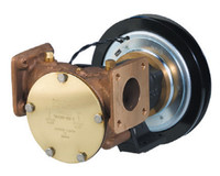 "Electric Clutch Pump 1 1/2"" Flanged 24v 1B Pulley"