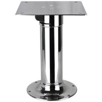 Table Pedestal 2 Stage Stainless