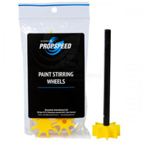 Paint Stirring Wheels - 10 Wheels + 1 Shaft