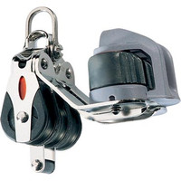 Ronstan RF20332 Series 20 Bb Block - Triple Cleat Becket