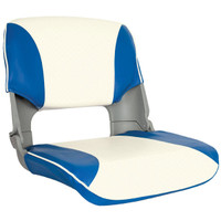 Skipper Seat Blue / White