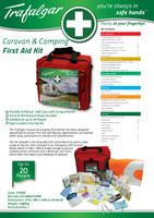 Trafalgar Caravan And Camping First Aid Kit