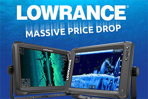 Huge price drop on Lowrance Elite TI and HDS CARBON