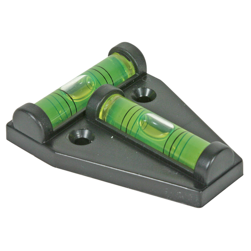 Camco 2-Way Tee Bubble Level