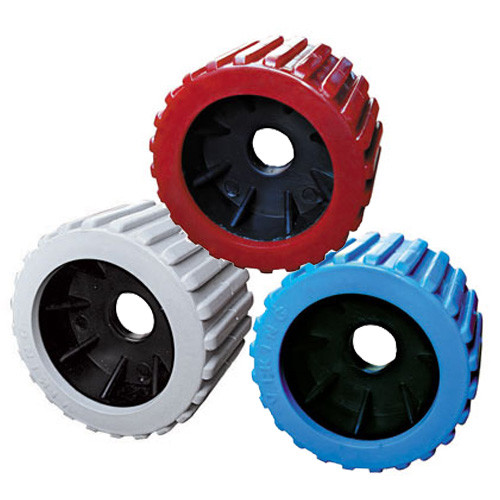 """3"""" x 4"""" Ribbed Wobble Rollers"""