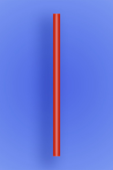 "GIANT STRAW 7.75"" - RED - 30/150 (4,500/case)"