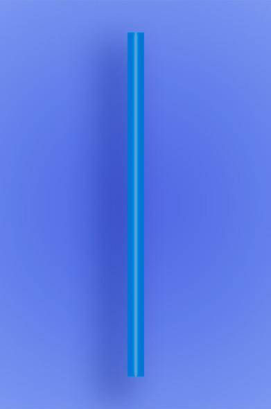 "GIANT STRAW 7.75"" - BLUE - 10/150 (1,500/case)"