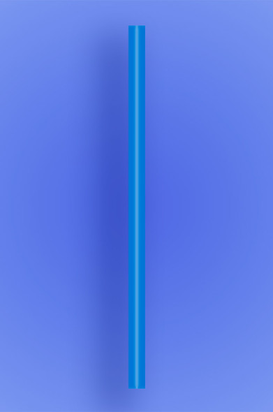 "GIANT STRAW 9"" - BLUE - 30/300 (9,000/case)"