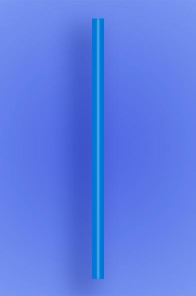 "GIANT STRAW 9"" - BLUE - 30/300 (9,000/case)"