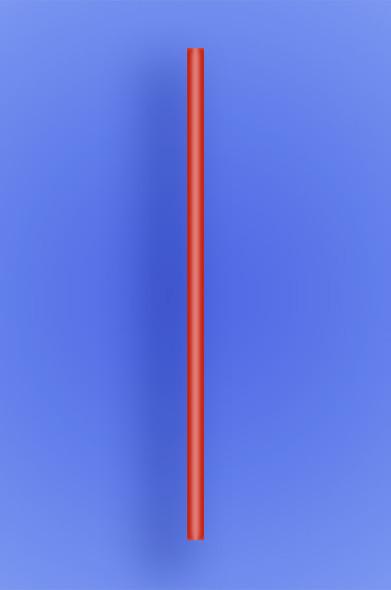 "JUMBO STRAW 7.75"" - RED - 30/250 (7,500/case)"