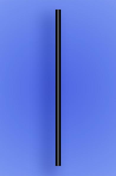 "JUMBO STRAW 10.25"" - BLACK - 30/250 (7,500/case)"