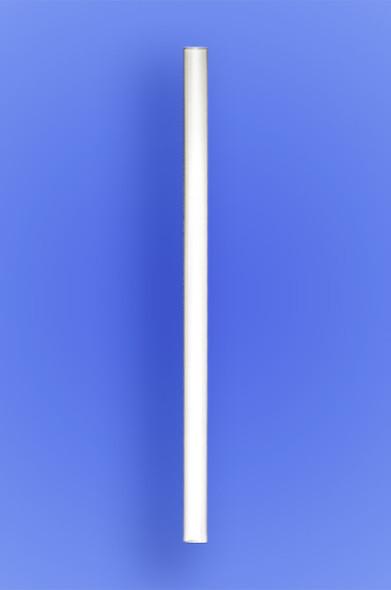"""GIANT STRAW 10.25"""" - WHITE - 30/150 (4,500/case)"""