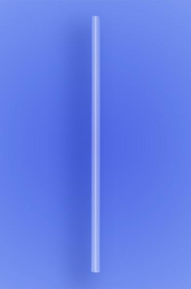 "JUMBO STRAW 10.25"" - CLEAR - 4/750 (3,000/case)"