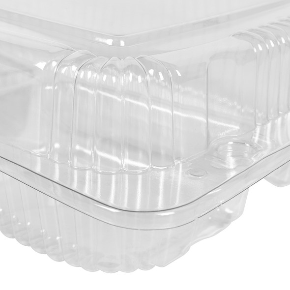 HINGED LID DELI CONTAINER - MULTI COMPARTMENT - 300/CASE