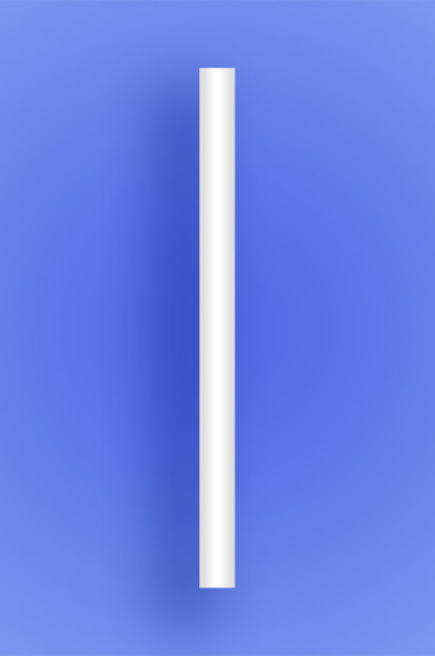 "COLOSSAL STRAW 8.5"" - WHITE - 2/650 (1,300/case)"