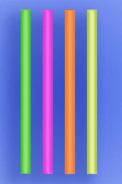 """COLOSSAL STRAW 10"""" - NEON - 2/650 (1,300/case)"""