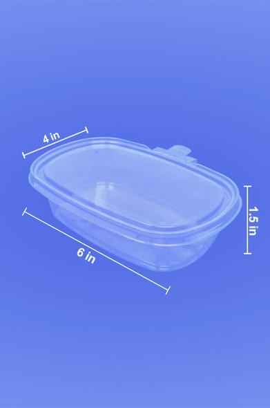 PREMIUM SECURE SEAL - TAMPER EVIDENT - DELI CONTAINERS - 500/Case
