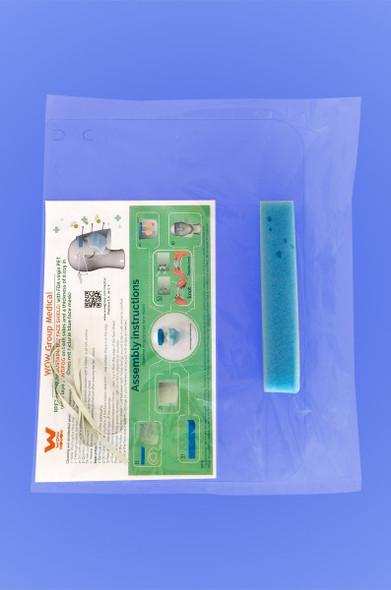 PROTECTIVE FACE SHIELDS - INDIVIDUAL - 1 SHIELD/BAG