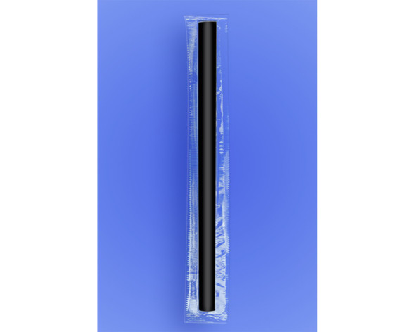 """COLOSSAL STRAW 10"""" - CELO WRAPPED - BLACK - 2/750 (1,500/case)"""
