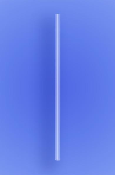 "JUMBO STRAW 10.25"" - CLEAR - 30/250 (7,500/case)"