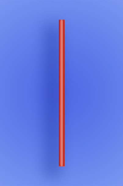"""JUMBO COCKTAIL STRAW 5.5""""  - RED - 30/250 (7,500/case)"""