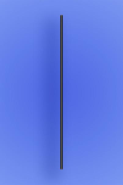 "SLIM COCKTAIL/STIR STRAW 5.25"" - BLACK - 10/1000 (10,000/case)"