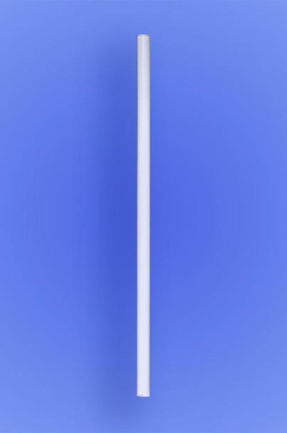 """JUMBO STRAW 7.75"""" - WHITE - 30/250 (7,500/case)"""
