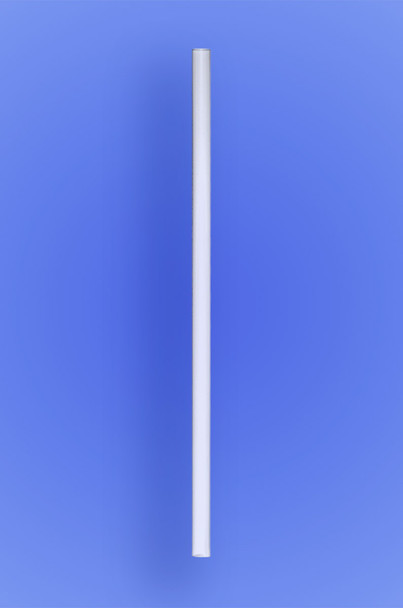 "SUPER JUMBO STRAW 10.25"" - WHITE - 30/225 (6,750/case)"