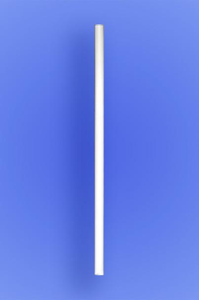 """GIANT STRAW 7.75"""" - WHITE - 30/150 (4,500/case)"""