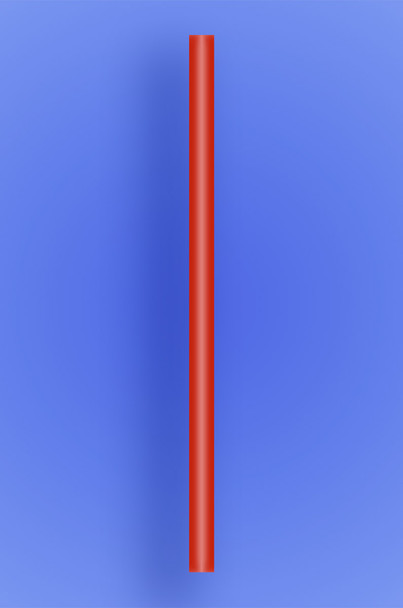 """GIANT STRAW 10.25"""" - RED - 30/150 (4,500/case)"""