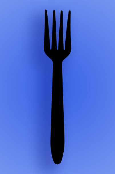 lightweight-black-fork