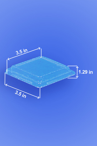 PORTION TRAY - SQUARE LID  - 2,000/CASE