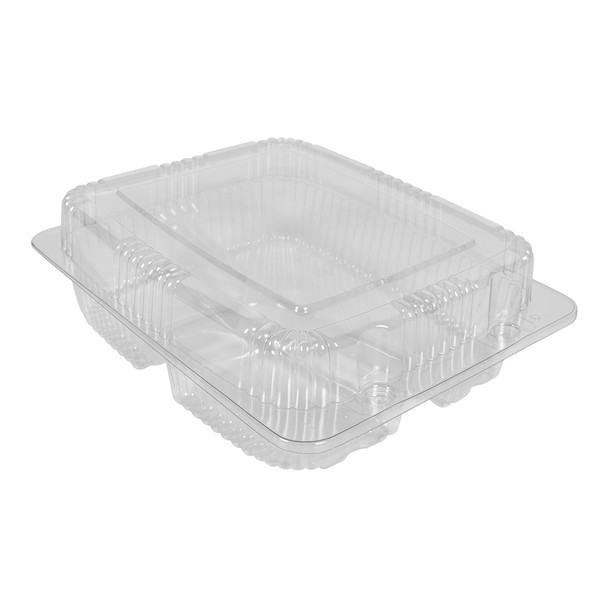 HINGED LID DELI CONTAINER LARGE - MULTI COMPARTMENT  - 200/CASE