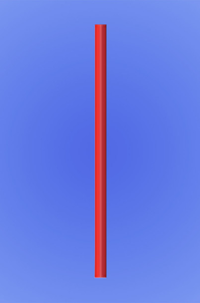 """GIANT STRAW 7.75"""" - RED - 10/150 (1,500/case)"""