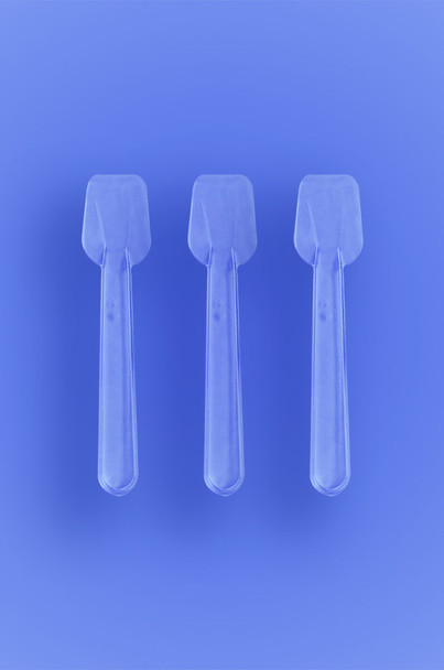 Clear Gelato Spoons
