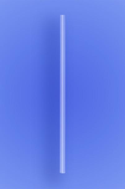 "JUMBO STRAW 7.75"" - CLEAR - 30/250 (7,500/case)"