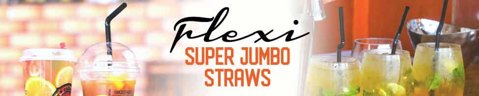 WoW flexi plastic straws